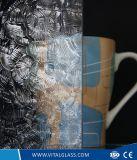 Стекло поплавка сделанного по образцу стекла декоративное просвечивающее