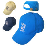 백색 Embroiderey (JRE115)를 가진 파란 야구 모자