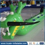 Neuer Entwurfs-Großverkauf-aufblasbarer Einhorn-Pool-Gleitbetrieb, aufblasbare riesige Wasser-Spielwaren