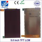 広くアプリケーションのための5.0inch 480*854 Fwvgaの解像度TFT LCM