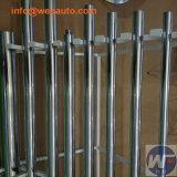 Cylindre hydraulique soudé de piston de tige de renfort