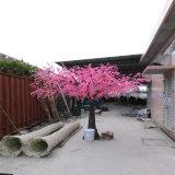 Flor de cereja artificial de venda quente /Sakuratree da decoração cor-de-rosa da paisagem