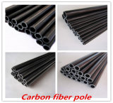 Alta calidad especial del tubo de la fibra del carbón de la dimensión de una variable