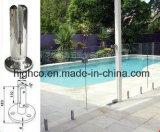 Espita de cristal cuadrada para el cercado de cristal de la piscina de Frameless