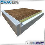 Escalier en aluminium d'extrusion flairant le profil
