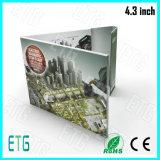 7inch LCD 회사 광고를 위한 영상 인사장