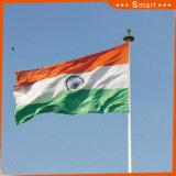 Su ordinazione impermeabilizzare e modello no. della bandiera nazionale dell'India della bandiera nazionale di Sunproof: NF-018