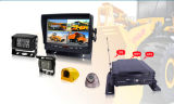 4CH en tiempo real GPS 3G Wi-Fi Móvil Dvrwith G-Sensor para autobuses, taxis, camiones, tanques, coches de policía