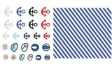 Autoadesivi impermeabili del chiodo degli autoadesivi di arte del chiodo della decalcomania bella di disegno