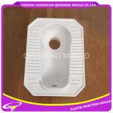 浴室の衛生経済的なしゃがむ鍋のプラスチック注入型