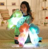 Giocattolo variopinto d'ardore di Doy della peluche del giocattolo LED della peluche degli animali farciti