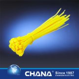 Atadura de cables de nylon de autoretención con el certificado de la UL
