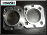 Las piezas que trabajan a máquina del acero inoxidable para la máquina ensamblan