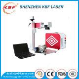 Máquina portable de la marca del laser de la fibra de la alta calidad mini para la etiqueta de oído del anillo/la pulsera