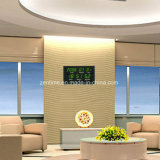 Grandes horloges électriques de calendrier de chiffre de DEL avec la fonction d'encadrement par radio
