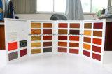Cartão de pintura de tinta de madeira para laca de móveis