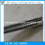 tubo de acero del corte del laser 3D con el diámetro grande