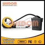Lampe approuvée de tête de sûreté de mineurs de la CE 28000lux Kl12ms-02 DEL de Wisom Atex