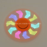 Het opvlammende Veranderende RGB LEIDENE Volwassen Speelgoed voor het Ontspannen de Grappige Vinger van de Hand van de Best-seller friemelt Spinner