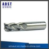 Berufsenden-Tausendstel-Ausschnitt-Hilfsmittel des scherblock-50HRC 3flute Aluminium