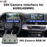 Hintere Ansicht-u. des Panorama-360 Schnittstelle für Audi 4G Signaleingang-Form-Bildschirm des Mmi-Systems-Lvds RGB