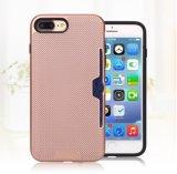 iPhone 7 jeux de téléphone combinés de carte de l'iPhone 7plus Monternet de case de tri de configuration d'armure pour la galaxie S6edge S7edge (XSEH-040) de Samsung