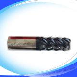 Karbid-Quadrat-Enden-Tausendstel der Qualitäts-HRC55 für Rohbearbeitung (CT-015)