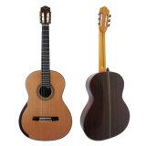 Son de trellis attachant la guitare classique fabriquée à la main de dos rond à vendre