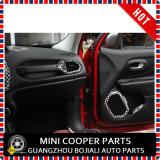 Auto Accessoire ABS Matériau Checkered Style Air Vent Cover & Speaker Trim Renegade (4PCS / SET)