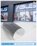Nuevo estilo de la visión unidireccional perforada en diseño de la impresión
