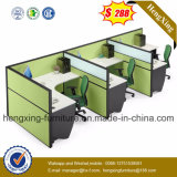 중국 가구 제조자 멜라민 사무실 책상 분할 워크 스테이션 (Hx-PT14004)