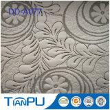 Tissu 100% de tricotage de matelas de polyester neuf de modèle pour le matelas de mousse de mémoire