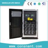 Hohe Leistungsfähigkeit modulare Online-UPS mit P.F. 1.0 30-90kVA