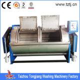 シートまたは衣服の麻布または商業洗濯機のための100kg蒸気の洗濯の洗濯機