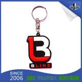 신제품 도매 다른 작풍 주문 로고 PVC Keychain