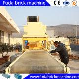 Машина делать кирпича глины гидравлического давления с дробилкой и экраном