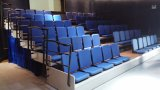 Asiento telescópico eléctrico de Jy- 768, blanqueadores retractables que asientan, blanqueadores de la gimnasia que asientan la tribuna retractable telescópica automática de interior del blanqueador del asiento