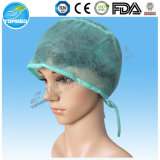 Gesponnener chirurgischer Doktor Cap des Doktor-Cap Blue Color Disposable nicht