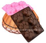 Molde 100% del silicón de la torta de chocolate de la categoría alimenticia de la venta del día de fiesta Sc48