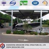 Edifício comercial do frame de aço para a tampa do carro