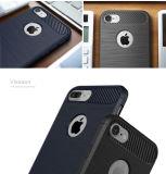 Cassa ibrida del telefono della fibra del carbonio per il iPhone 7 6 6s più