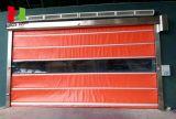 Puerta temporaria rápida industrial/puerta temporaria rápida de alta velocidad del obturador del rodillo del PVC