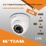 조정 렌즈 (MVT-AH34)를 가진 금속 주거 돔 Ahd Vandalproof 사진기
