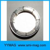 De gesinterde die Magneten van de Zeldzame aarde van de Boog in de Permanente Motoren van de Magneet worden gebruikt