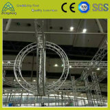 Ферменная конструкция круга этапа оборудования выставки алюминиевая квадратная