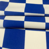 Tela química tingida fio tecida do poliéster da tela da tela da tela para a matéria têxtil da HOME do vestido do vestuário