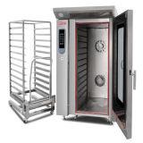 Venta caliente/horno eléctrico profesional/económico de la convección de 12 bandejas con precio de la carretilla