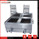 Double 10L tank Commercial Stainless Steel Electric Deep Fat Fryer
