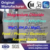 Pente de réactif de médecine de Pharma de nourriture de chlorure de magnésium