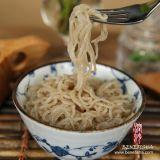 El sabor de las espinacas Fideos Shirataki